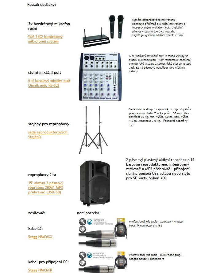 případové studie ozvučení